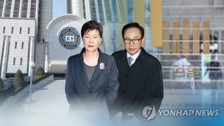 이명박, 박근혜 전 대통령./사진=연합뉴스