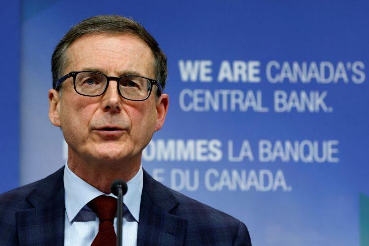 티프 맥클럼 캐나다중앙은행 총재  [사진 제공= 로이터연합뉴스]