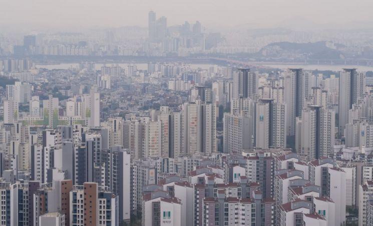 서울 서대문구와 마포구 일대의 아파트 모습 [이미지출처=연합뉴스]