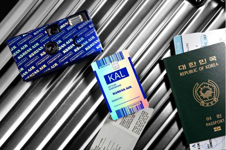 현대카드·대한한공, '대한항공카드' 출시 1주년 맞아 특별기 띄운다