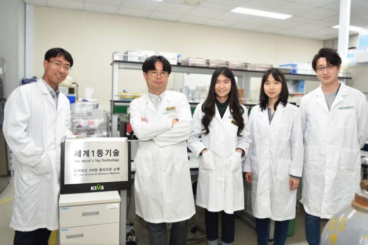 한국재료연구원 나노바이오융합연구실 연구진들이 코로나19와 호흡기 감염성을 유발하는 총 8종 바이러스를 진단하는 현장형 유전자 PCR기술을 세계최초로 개발했다.