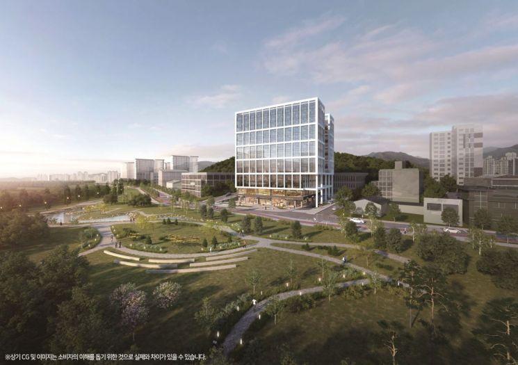 롯데건설은 5월 서울 마곡동 일원에 지식산업센터를 분양할 예정이다. 롯데건설이 직접 시행·시공하는 첫번째 지식산업센터다. <사진제공=롯데건설>