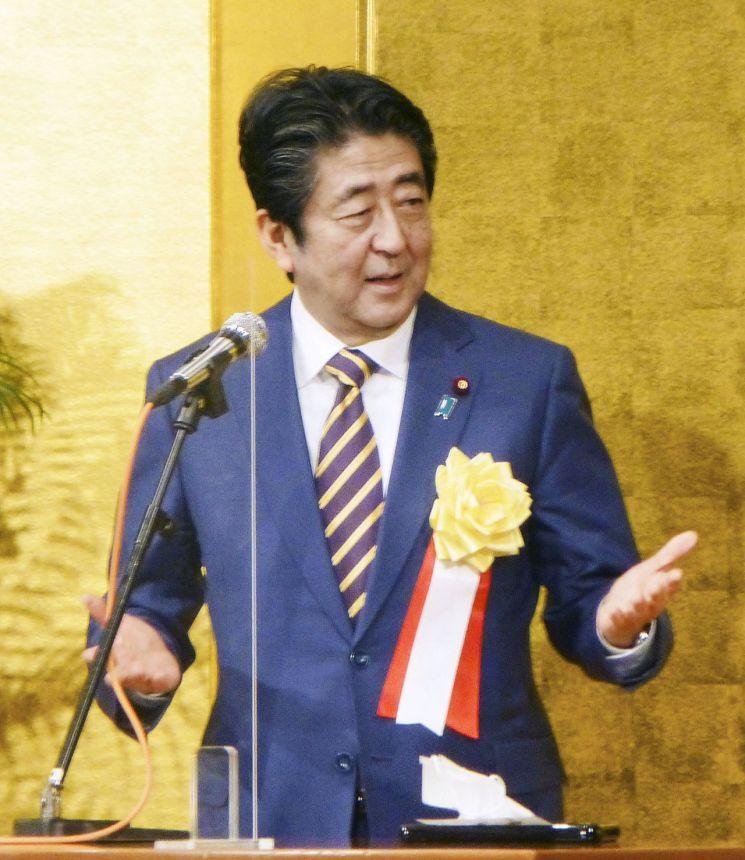 ▲아베 신조 일본 전 총리 [이미지출처=연합뉴스]