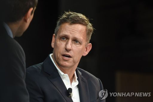 팔란티어 창업자이자 이른바 '페이팔 마피아' 일원인 피터 틸. / 사진=연합뉴스