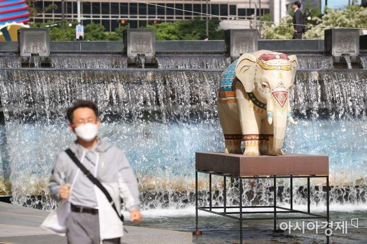 [포토]청계천 코끼리