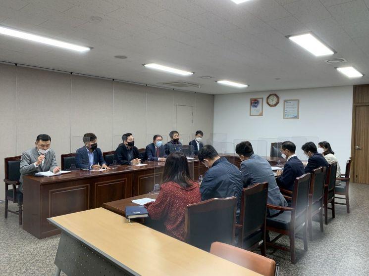 '함안 군북면 의료폐기물 소각시설 설치 반대' … 조근제 군수, 낙동강유역환경청 방문