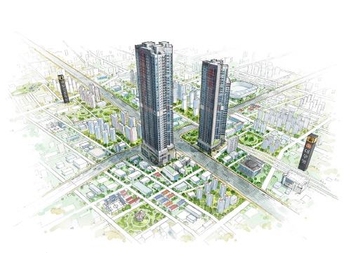 현대건설, '힐스테이트 대구역 퍼스트' 6월 분양 예정