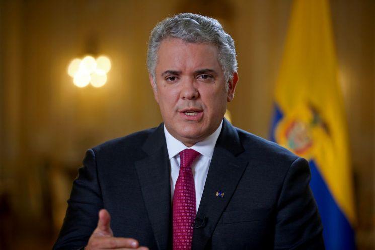 이반 두케 콜롬비아 대통령 [이미지출처=로이터연합뉴스]