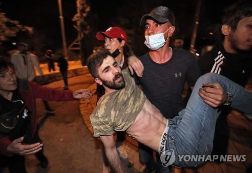 예루살렘서 이스라엘·팔레스타인 충돌 사태…200여명 부상