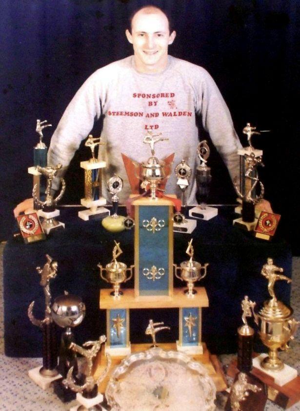 데이브 미어스(58)는 지난 1984년 세계 무술 선수권 대회에서 태권도 부문 챔피언에 오르기도 했다. [사진=데일리스타]