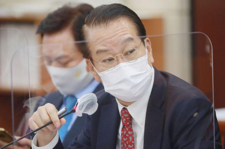 국감 질의하는 권영세 국민의힘 의원. 사진 = 연합뉴스