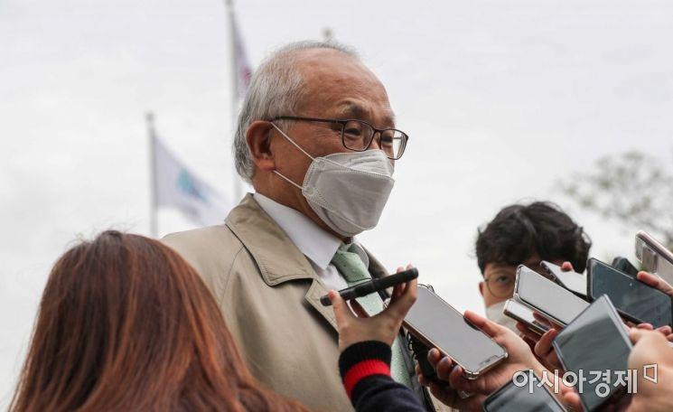 [포토]검찰수사심의위 참석한 양창수 위원장