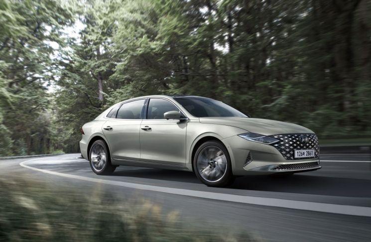 현대차, 2021 그랜저 출시…스페셜 트림 '르블랑' 추가
