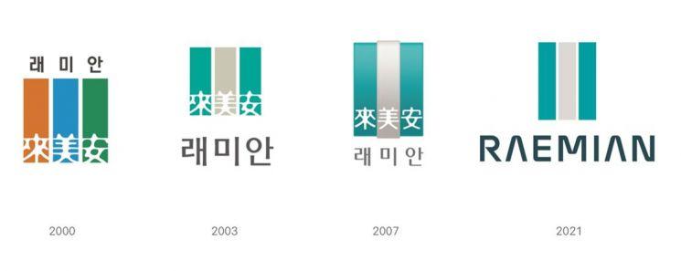 """삼성물산 '래미안' 14년 만에 BI 재단장…""""삶의 동반자"""""""