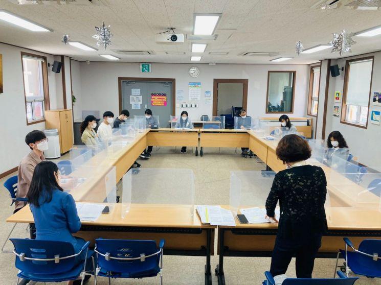 경남 김해시가 청소년 동아리 활동 지원사업 간담회를 개최했다.[이미지출처=김해시]