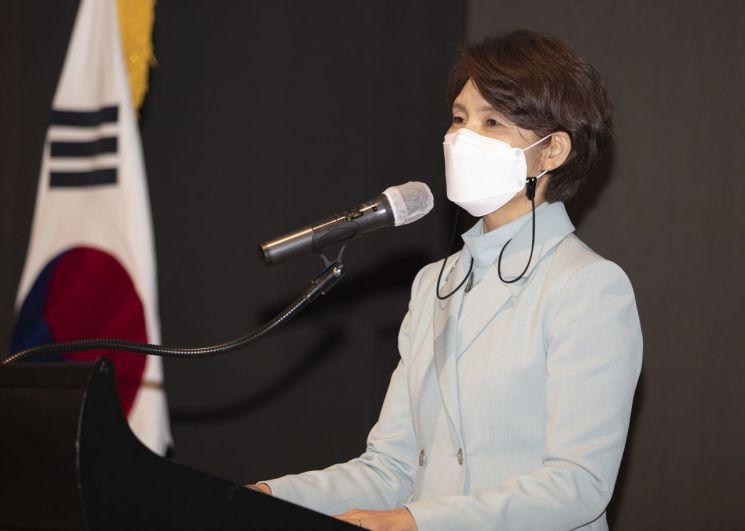 한정애 환경부 장관.(자료사진)