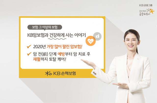 KB손보, '표적항암약물허가치료비' 탑재 암보험 출시 1년…점유율 3배 ↑
