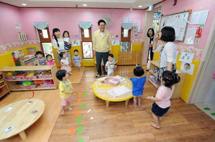 동대문구, 영유아 간식비 확대, 보육교직원 처우개선 등 40억원 지원