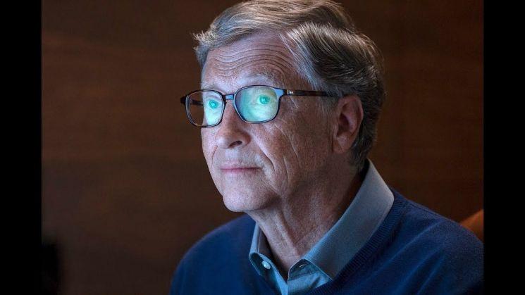 빌 게이츠에 대해 다룬 넷플릭스 다큐멘터리 '인사이드 빌 게이츠' 한 장면. / 사진=유튜브 캡처
