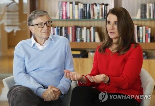 빌 게이츠와 아내 멜린다(오른쪽) / 사진=연합뉴스