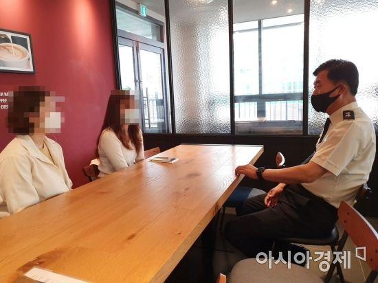마재윤 전남소방본부장, 백신 접종 후 이상증세 소속 직원 위문