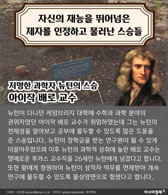 [카드뉴스]그들이 없었다면 뉴턴의 '만유인력'도 모차르트의 '피가로의 결혼'도 없었다