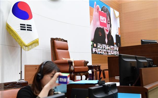 서울시의회, 대면·비대면 방식 '청소년 의회교실' 운영