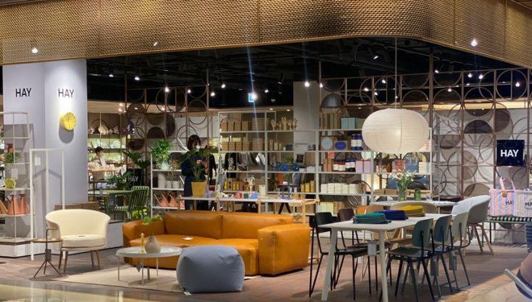 신세계백화점이 다음달 10일까지 강남점 9층 생활관에서 북유럽 리빙 편집숍 '헤이'의 팝업 행사를 선보인다.