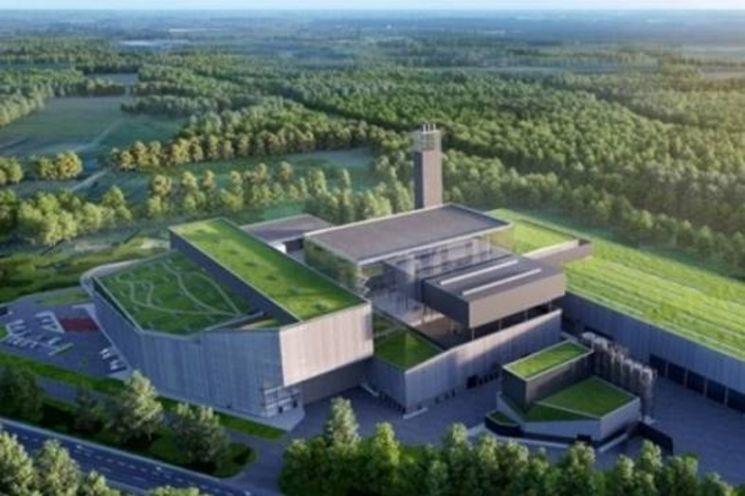 폴란드 바르샤바 폐자원 에너지화 플랜트 조감도/사진제공=두산중공업