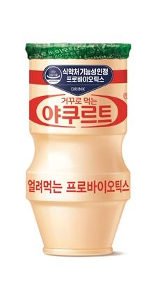 뒤집어 얼린 야쿠르트…추억의 그 맛 '대박'