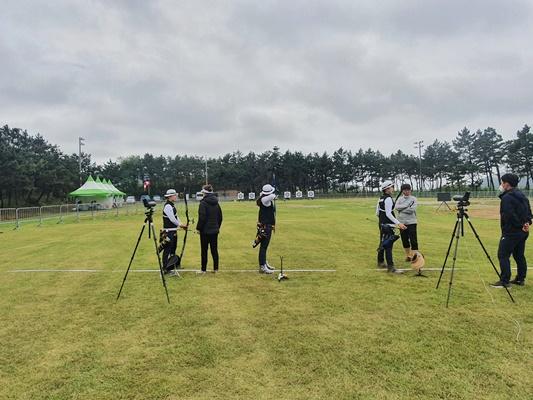 양궁 국가대표 선수단, 신안 자은도에서 도쿄 올림픽 대비 훈련 '박차'