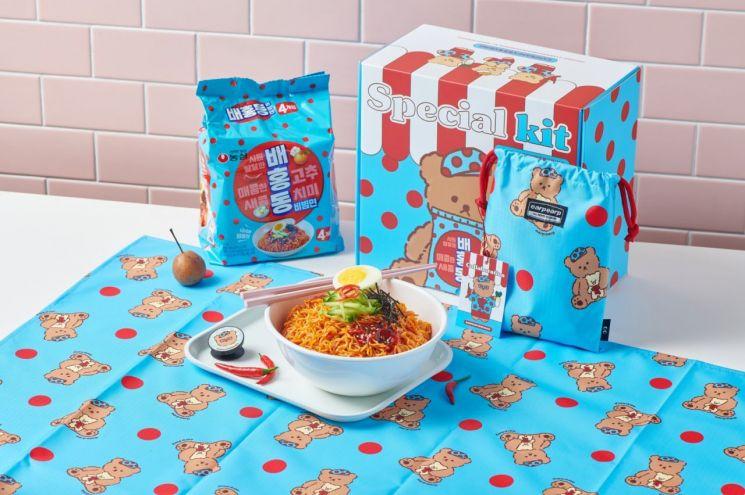 농심 배홍동 비빔면 두 달만에 1400만개 판매…한정판 굿즈 출시