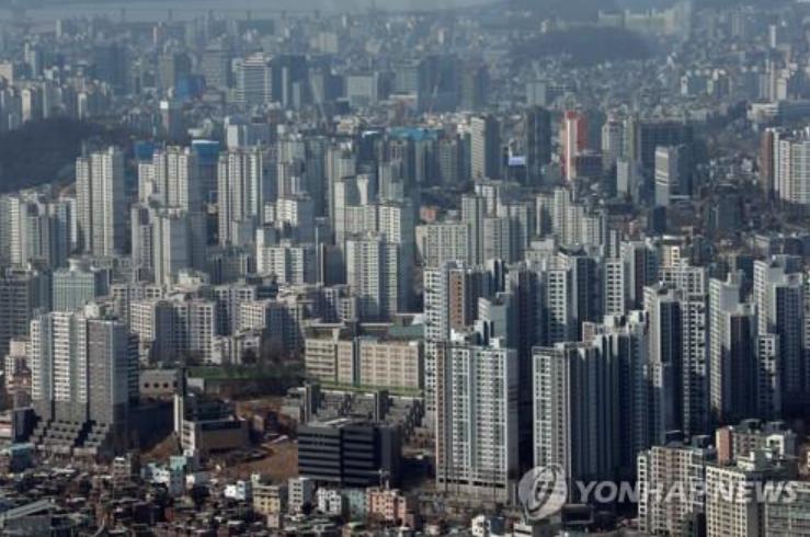 서울 아파트 전경. 사진은 기사 중 특정 표현과 무관. [이미지출처=연합뉴스]
