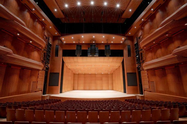 국립극장 해오름극장 무대 및 객석의 모습.(사진제공=국립극장)