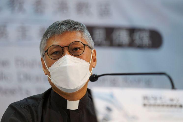 스티브 차우 홍콩 가톨릭교회 주교 [이미지출처=로이터연합뉴스]