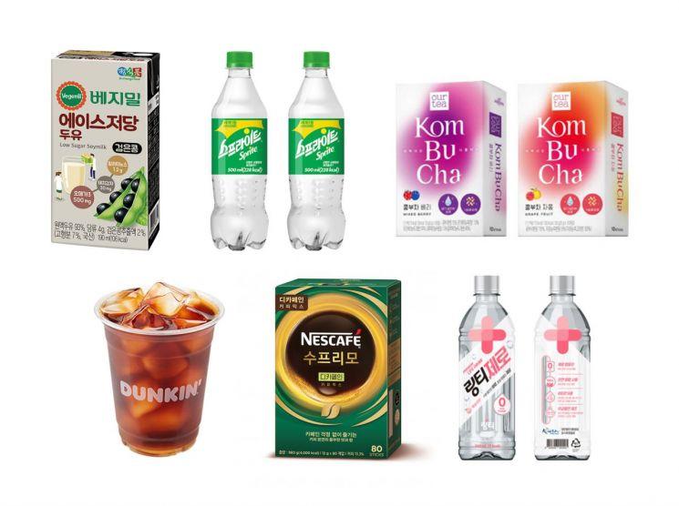 건강관리 한다…당분·칼로리·카페인 낮춘 음료 인기