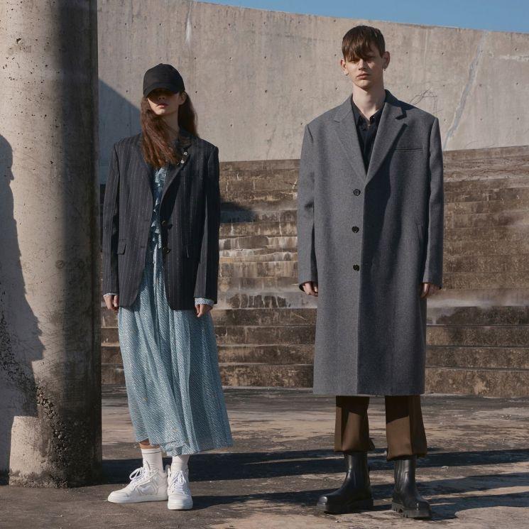 현대백화점그룹_한섬 시스템 스튜디오 2021 가을 겨울 시즌 파리 패션위크 컬렉션