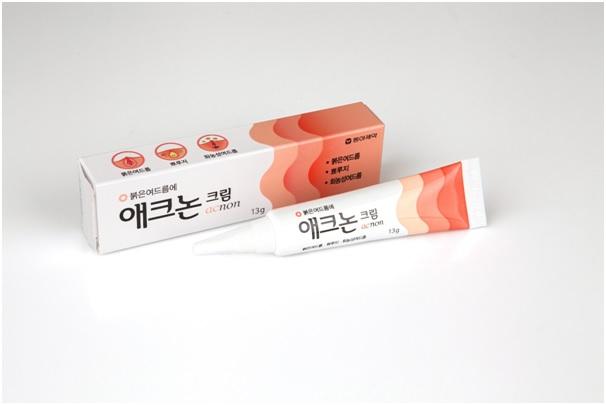 동아제약 '애크논 크림' (사진제공=동아제약)