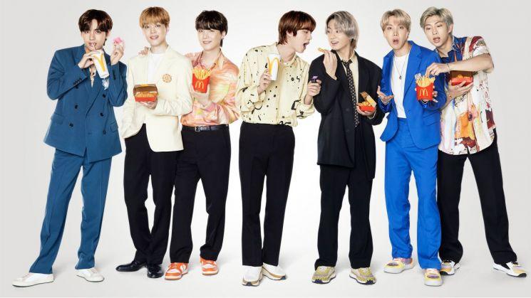 맥도날드, BTS세트 누적 판매량 120만개 돌파