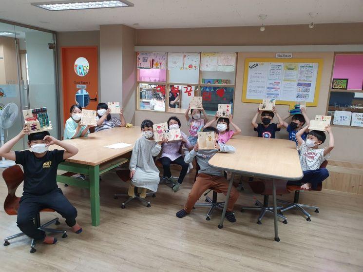 목포교육지원청은 LH행복꿈터 용해지역아동센터에서 '찾아가는 발명체험 교실'을 운영했다. 사진=목포교육지원청 제공