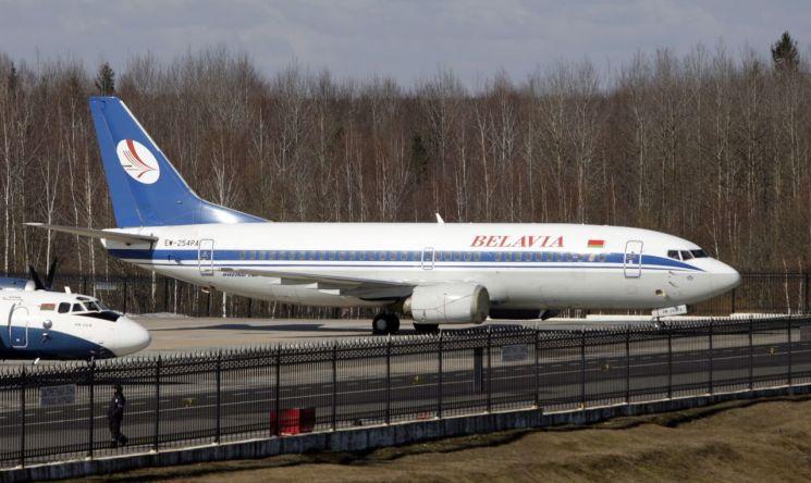 벨라루스 국적 벨아비아항공의 여객기 [이미지출처=EPA연합뉴스]