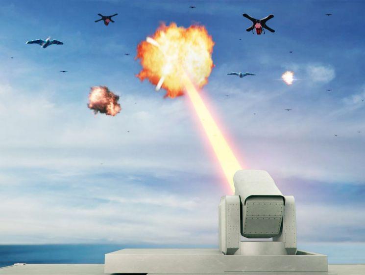 한화, 드론 잡는 '레이저 무기' 만든다