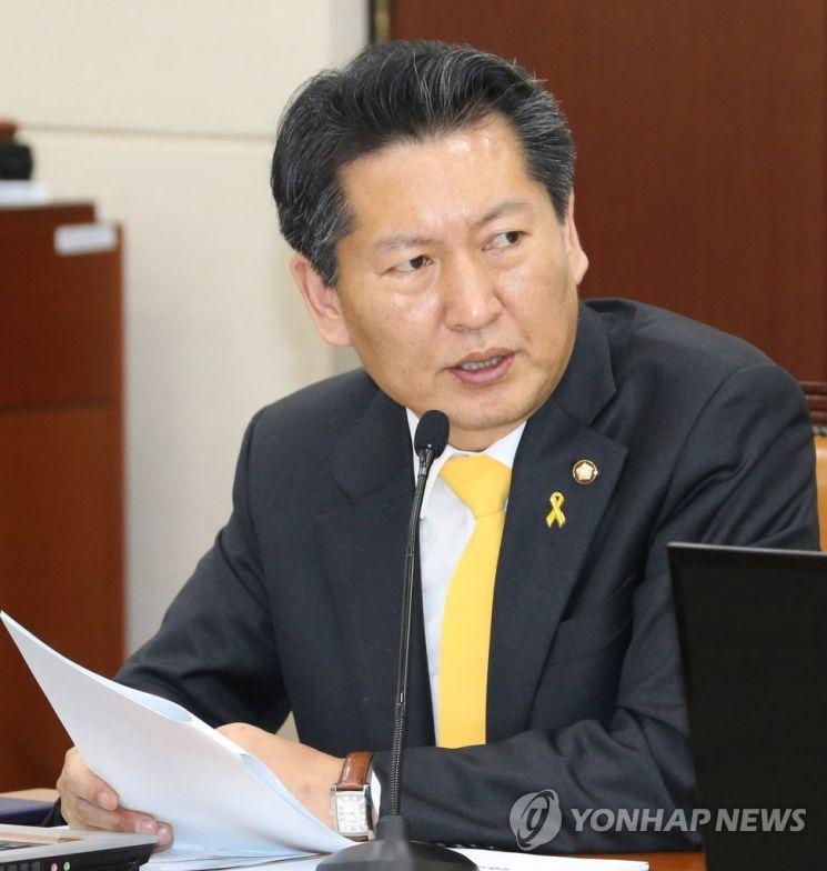 정청래 더불어민주당 의원. [이미지출처=연합뉴스]