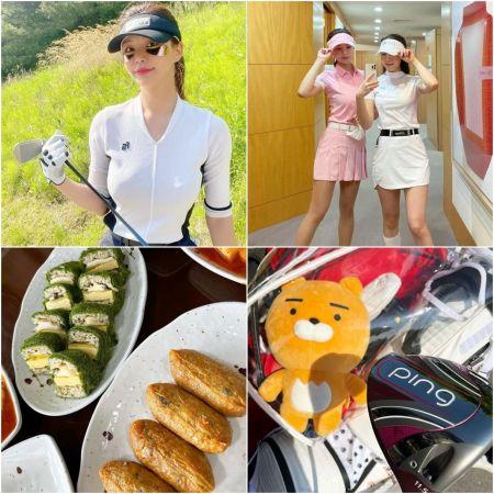 2017 미스코리아 서울 선 출신 임하은은 지난해 골프를 본격적으로 시작한 '골린이'다. 필드에서의 자신의 일상을 사회관계망서비스(SNS)에 올리며 소통하고 있다. 인스타그램 팔로워는 2만1000여명이다.