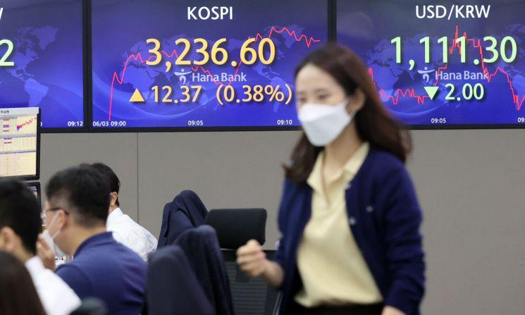 3일 서울 중구 명동 하나은행 본점에서 직원들이 근무하고 있다. [이미지출처=연합뉴스]