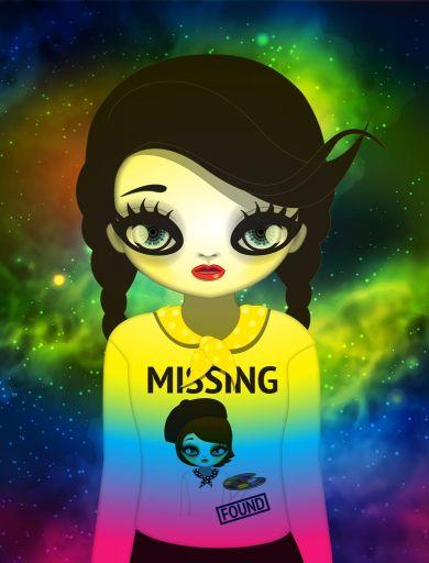 국내 최초 NFT(대체불가능토큰) 기술이 적용된 디지털 미술품 마리킴 'Missing and found'(미싱 앤 파운드) / 사진=피카프로젝트