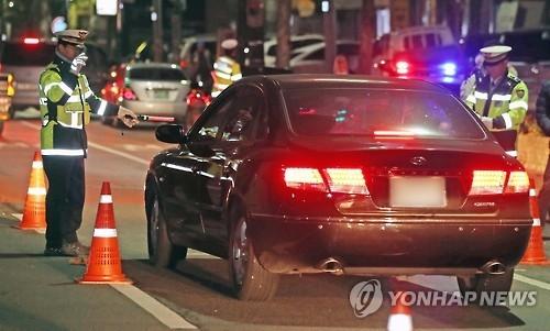 경찰 음주운전 단속./사진=연합뉴스