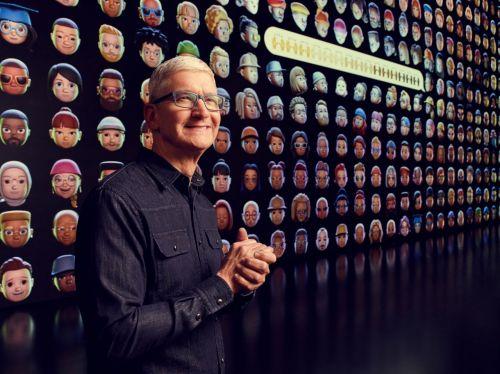 2021 애플 WWDC 기조연설에서 발표하는 팀 쿡 애플 CEO [이미지출처=EPA연합뉴스]
