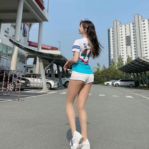 [포토] 김한나 '우월한 각선미'