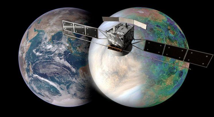 유럽우주국(ESA)의 새 금성 탐사선 엔비전(EnVision) 프로젝트. 사진 출처=ESA 홈페이지.
